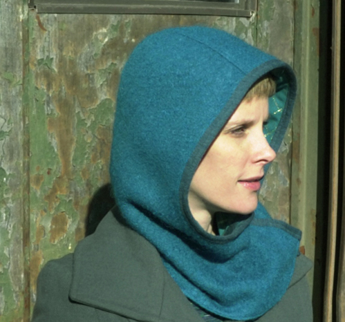 Rocks and Salt Hooded Cowl